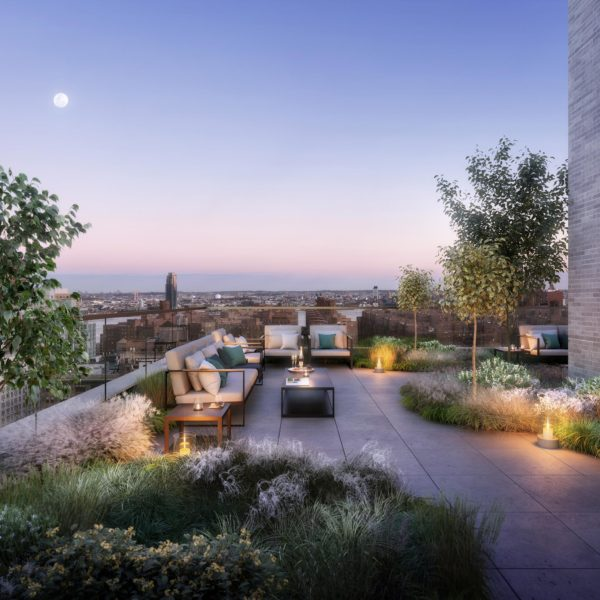 Rooftop Terrace in Gramercy, NYC, at 200 East 21st
